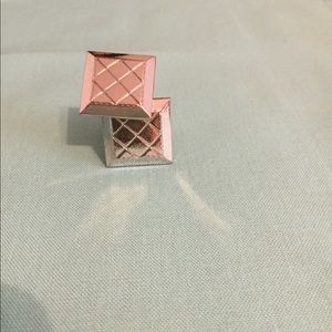 Other - Silver square cuff links